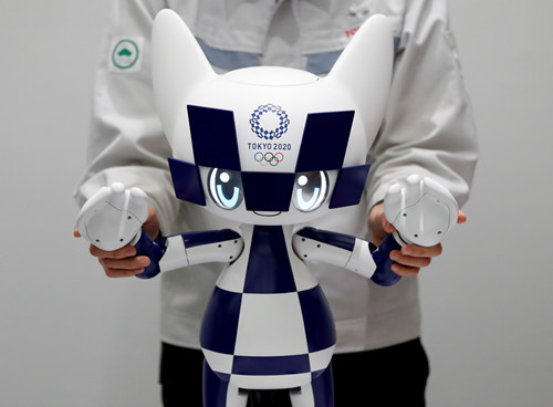 Toyota unveils robots for Tokyo Games