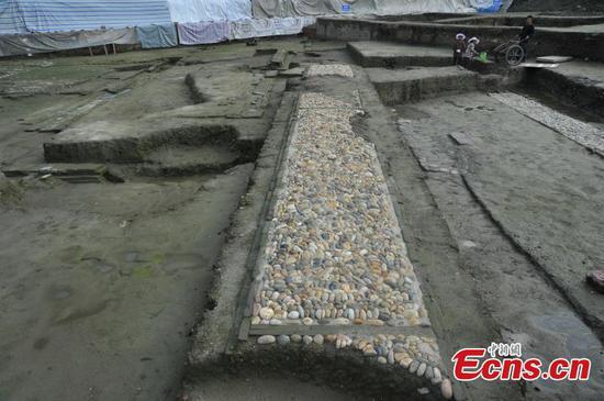 Chengdu reveals progress in excavation of Donghua Gate ruins