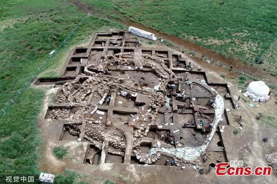 3,300-year-old Bronze Age settlement found in NW China's Xinjiang