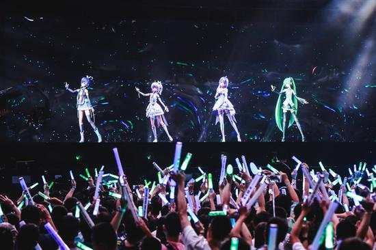 Virtual idols bring new life to entertainment industry
