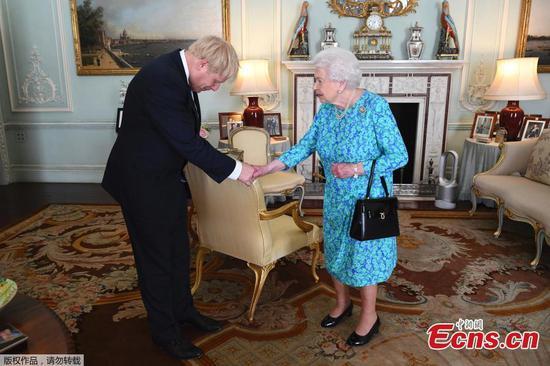 在英国脱欧的不确定性中,鲍里斯·约翰逊(Boris Johnson)担任英国总理