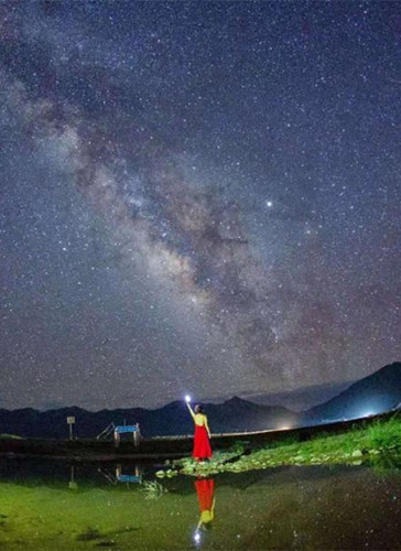 Batang Grassland is ideal for stargazers