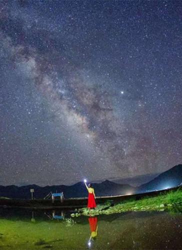 Batang Grassland is ideal for stargazers