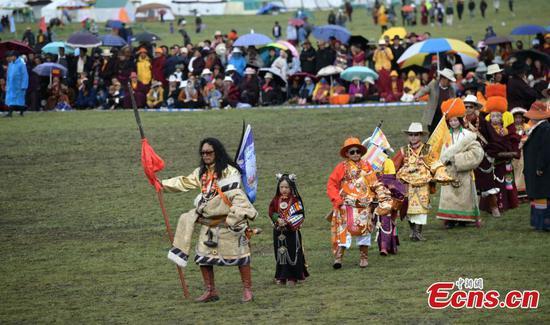 藏族表演传统的国庄舞