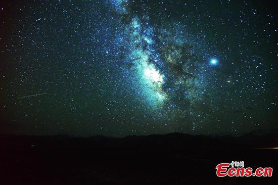 Yanglong Grassland an idea place for stargazers