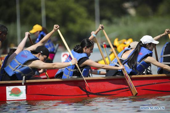 Annual dragon boat festival kicks off in NYC
