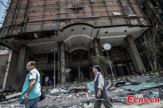Cairo explosion: 19 killed and 30 injured after car crash