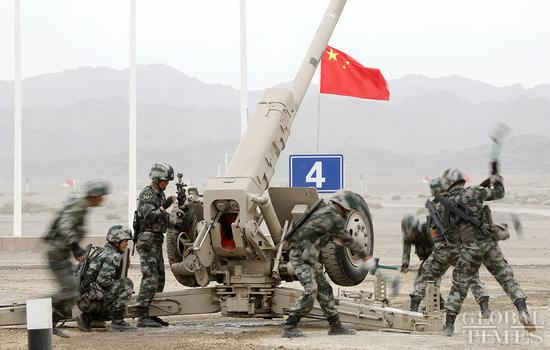 Chinese team leads the howitzer repairing race of IAG 2019
