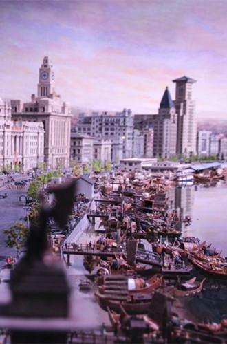 Miniature exhibition showcases Shanghai and European landmarks