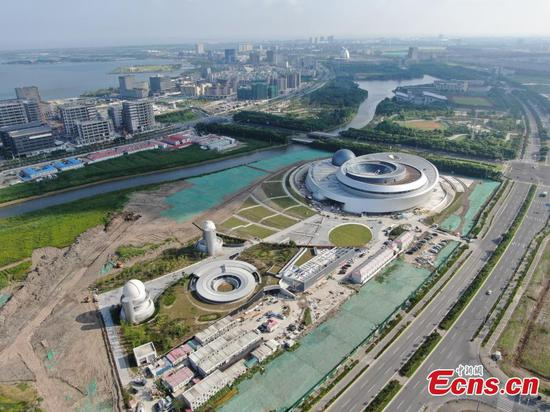 Aerial photos show new area of Shanghai FTZ
