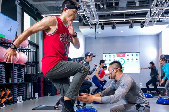 Shanghai keeps on the move with fitness community