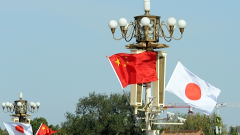 Chinese, Japanese defense departments hold meeting under liaison mechanism