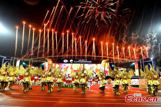 World Police and Fire Games opens in Chengdu