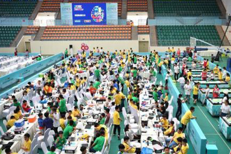 4,500 to compete at World Robot Conference in Beijing
