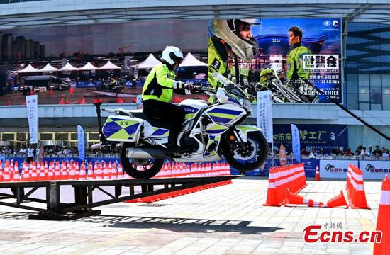 Motorcycle event part of World Police and Fire Games