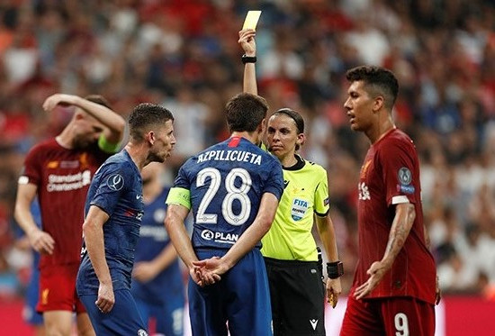Stephanie Frappart: The female referee in charge of Liverpool vs Chelsea in UEFA Super Cup