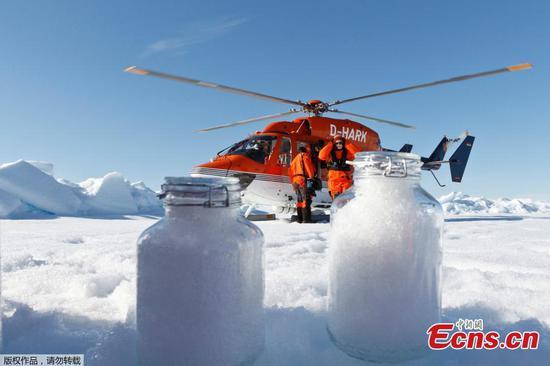 微塑料盛行于阿尔卑斯山和北极的雪中