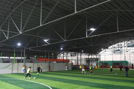 Ministry supports investment in football facilities