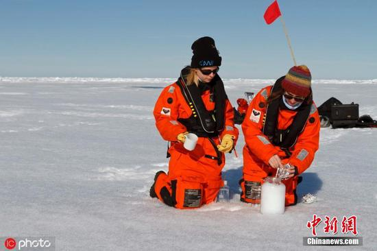 German scientists discover microplastics in Alpine and Arctic ice