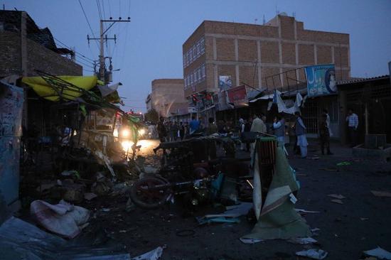 63 killed in Kabul wedding hall explosion