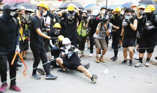 HK police: No arrests made in weekend protests
