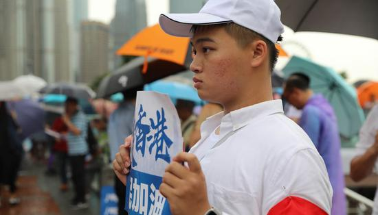 Love Hong Kong and stop hurting it, say ordinary Hong Kong people