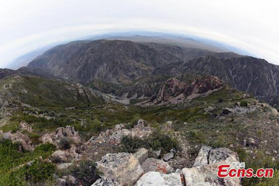 Ruins of 1931 earthquake now part of geopark in Xinjiang