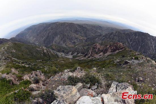 1931年地震的遗址现在已成为新疆地质公园的一部分
