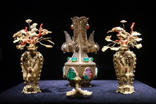 1,300 relics on show at Wulian Museum