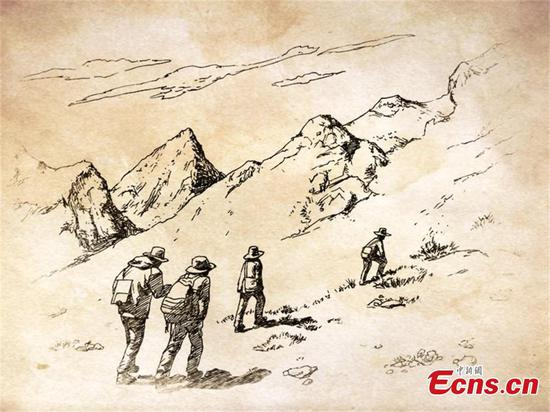Teacher��s pen drawings resonate with geologists