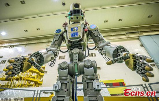 Meet Skybot F-850, the humanoid robot Russia is launching into space