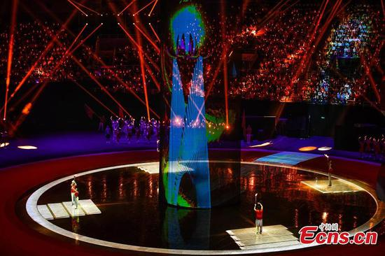 China's 10th National Paralympics Games opens in Tianjin