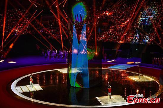 第十届全国残奥会在天津开幕