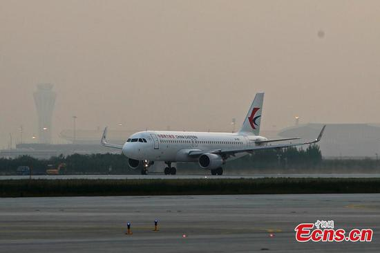 China Eastern Airlines completes test flight at new Beijing airport