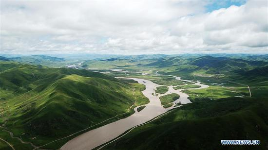 Eco-China: Ecological environment of Gansu improved