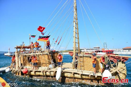 Explorers to sail ancient Black Sea route on reed boat