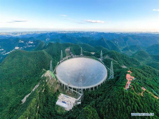 China's FAST telescope to greet third anniversary of operation