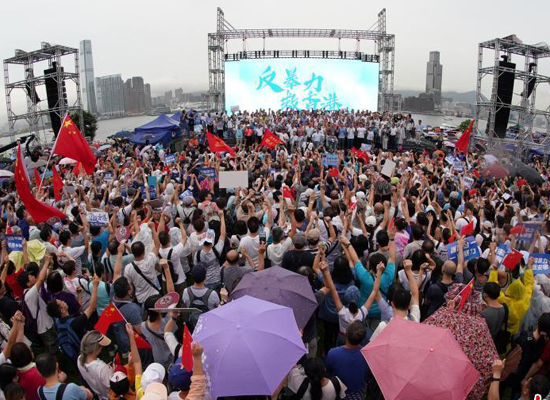 Education flaws linked to HK unrest
