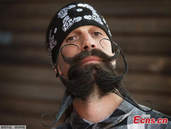 Beard and Mustache Battle for charity in Los Angeles