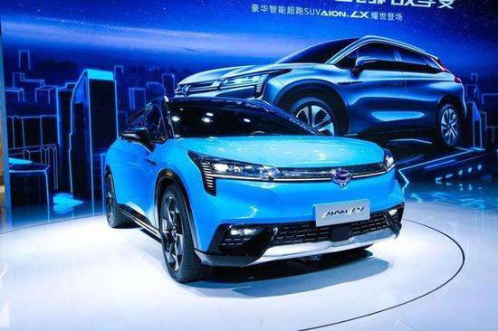 GAC Group unveils autonomous high-end SUV