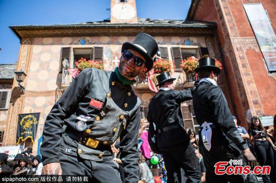 Chimney Sweeps Festival celebrated in Italy