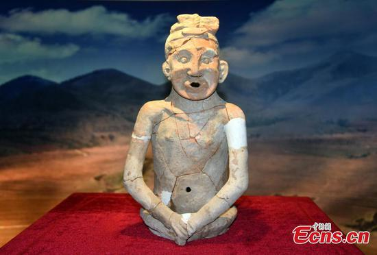 5,300-year-old pottery figure in Inner Mongolia