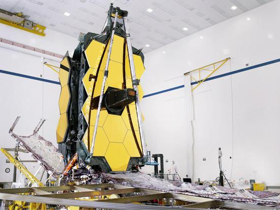 NASA's James Webb Space Telescope assembled for the first time