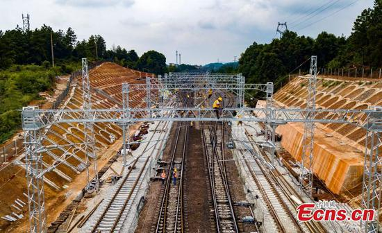 China's longest coal-transporting railway line to open soon