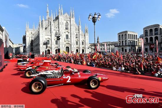 法拉利庆祝其赛车队成立90周年