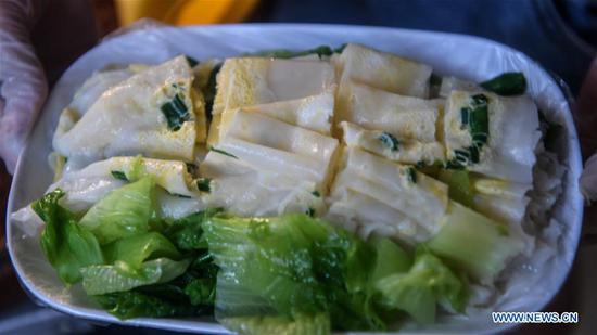 """""""宝鸡粉"""":在中国南方广西流行的小吃"""
