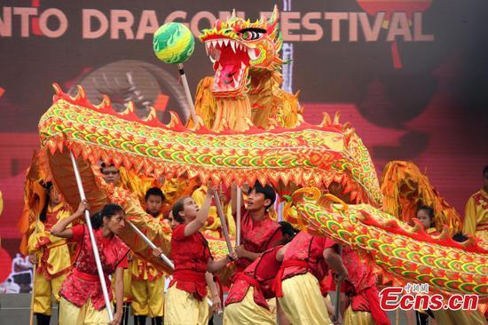 Toronto Dragon Festival celebrates cultural diversity