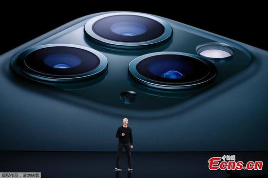 Apple reveals triple-camera iPhone