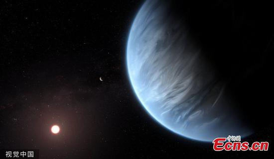 Astronomers finds water vapor on a habitable-zone exoplanet for first time