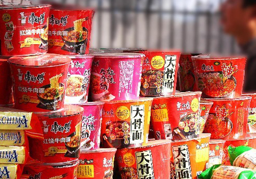 Instant noodles make comeback after five-year slump